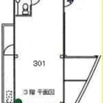 ファミーユ石橋2 202(間取)